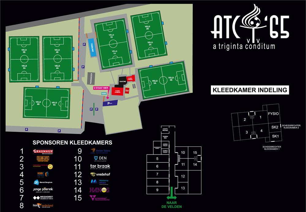 Plattegrond ATC complex