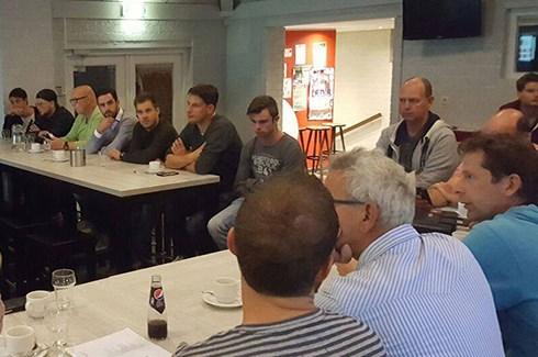 Foto bijeenkomst veranderende organisatiestructuur
