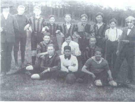 Foto RKVV Baarlo 1 in het oprichtingsjaar 1927