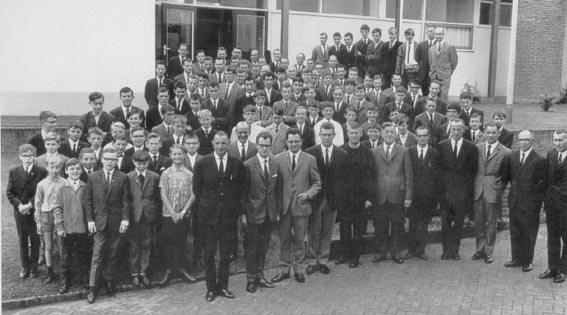 Foto 40-jarig jubileum VV Baarlo