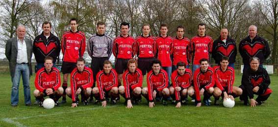 Kampioensteam VV Baarlo 1 seizoen 2005/2006
