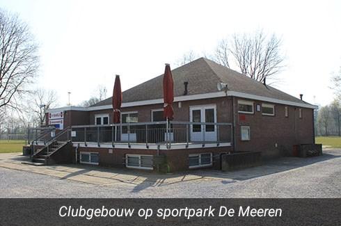 Foto van het clubgebouw