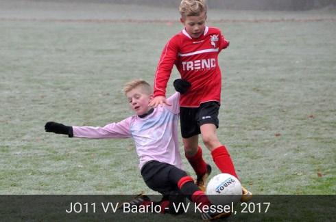 JO11 van VV Baarlo en VV Kessel, 2017
