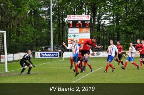 VV Baarlo 2, 2019