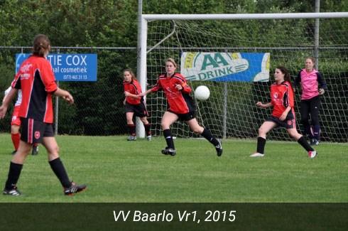 Foto VV Baarlo Vr1, 2015