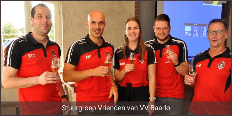 Foto stuurgroep Vrienden van VV Baarlo