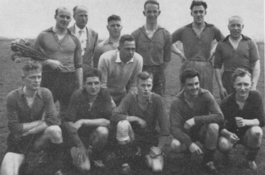 Kampioensteam zaterdag afdeling 1957
