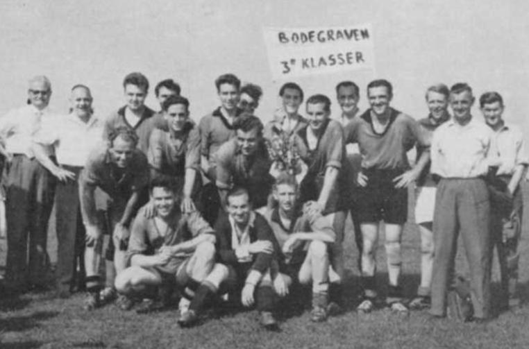 Kampioensteam zondag afdeling 1959