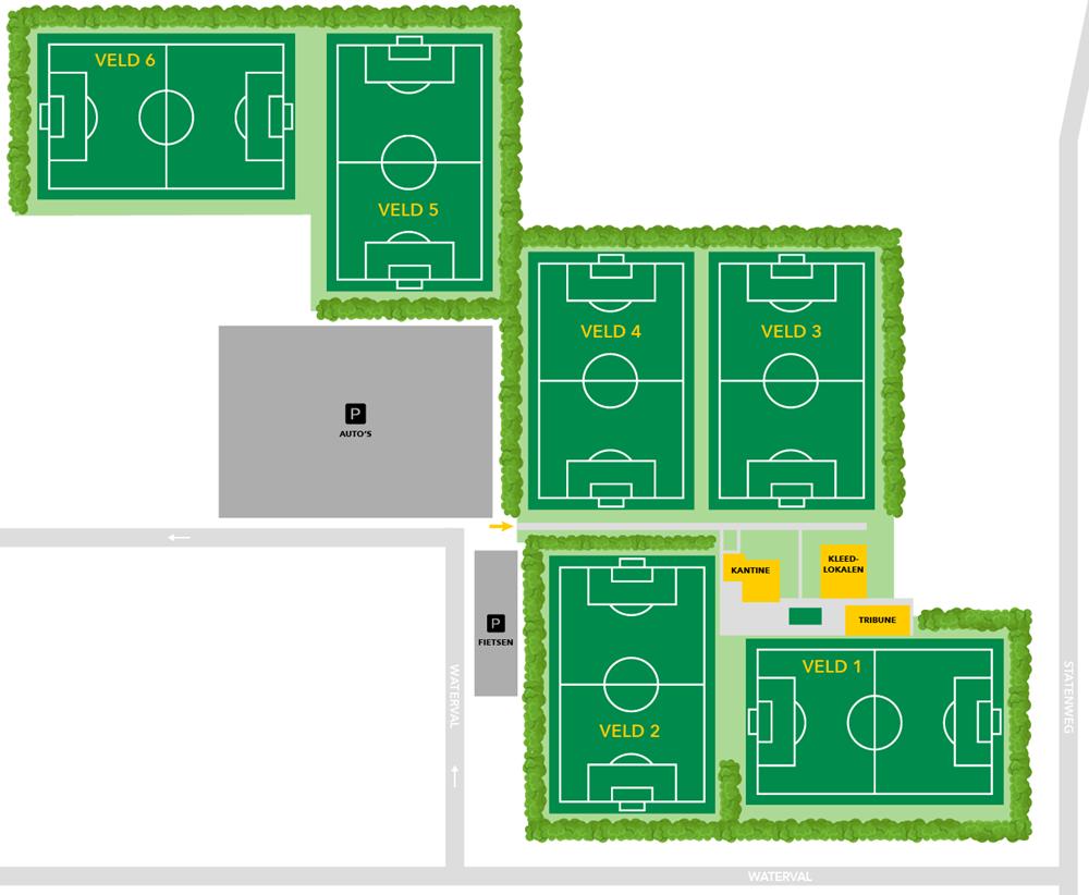 plattegrond sportpark boekel sport