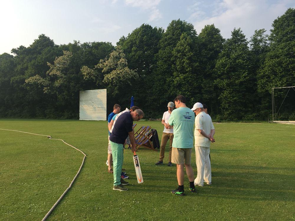 Instructie social cricket