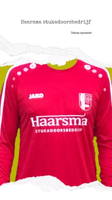 Sponsor Haarsma Stukadoorsbedrijf