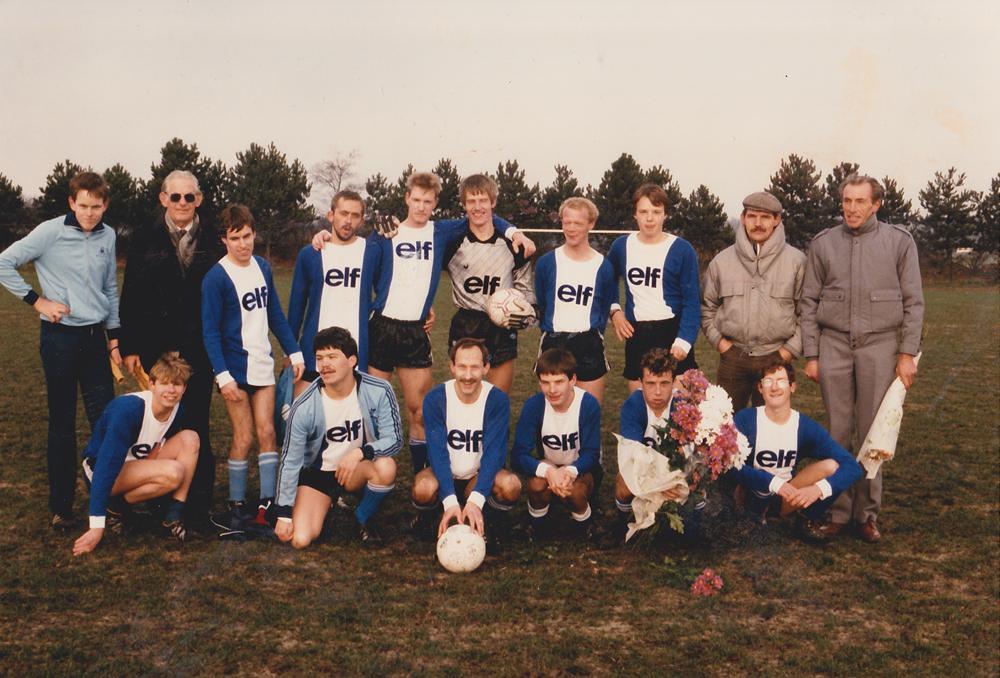 ESA G-team 1985-1986 Nederlands kampioen