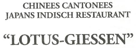 Lotus Giessen