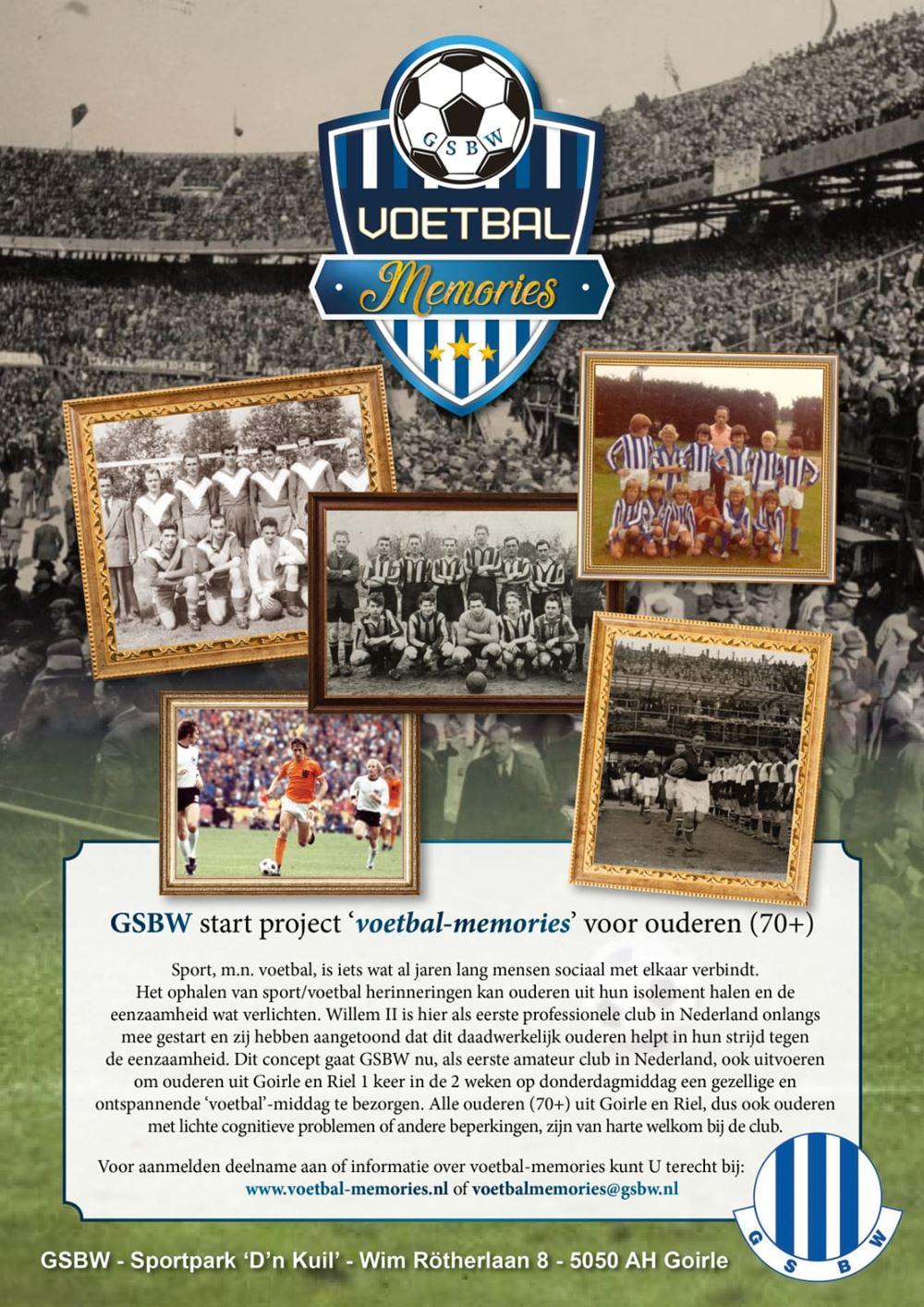 Poster voetbal-memories