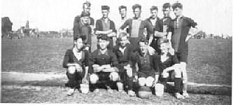 Be Quick/Goudswaardse Boys rond 1934.