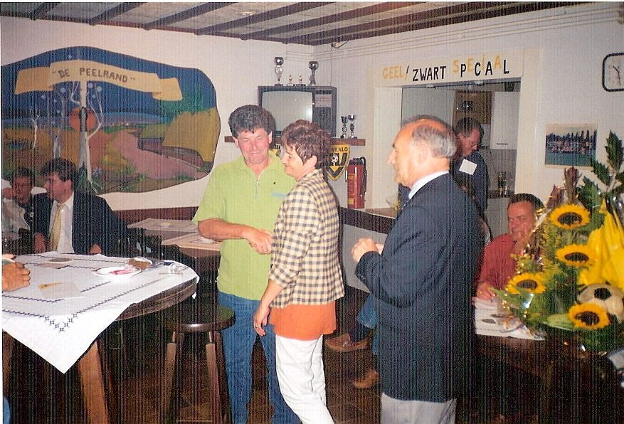 Huldiging oude kantine 1996