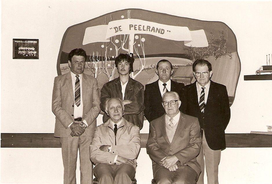 Organisatie comité van het 50 jarig 1984