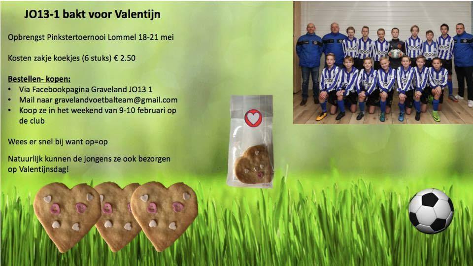 Valentijn's koekjes