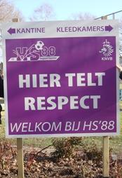 HS'88: Hier telt respect!