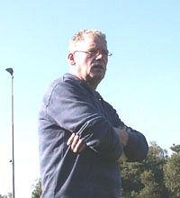 Trainer Chris Verbeek