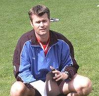 Trainer Mark Mol