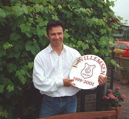 Trainer Jeroen Willemsen