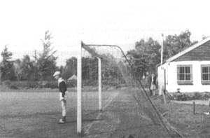 Keeper Jopie Klein Baltink anno 1965 op 't Schoolder