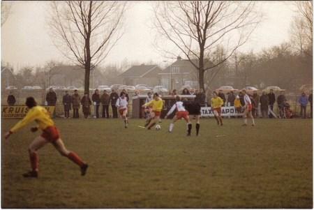 1978 v.v.Heukelum - Het kleine Heukelum lootte in de beker tegen de topamateurs van Noordwijk.