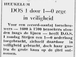 Krantenartikel DOS Heukelum