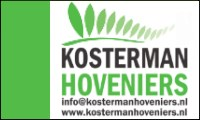 Kosterman Hoveniers is internetsponsor van v.v.Heukelum