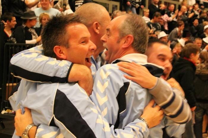 VV Hoogeveen winnaar Protos Weering Zaalvoetbaltoernooi 2010
