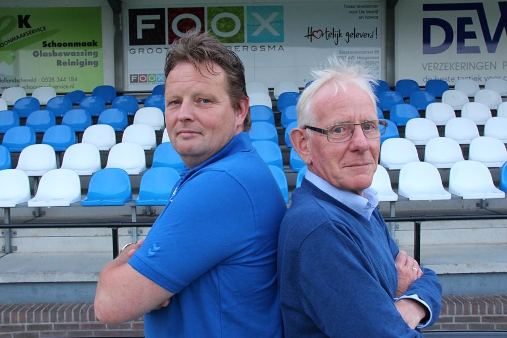VV Hoogeveen John Kikkert en Theo Metz
