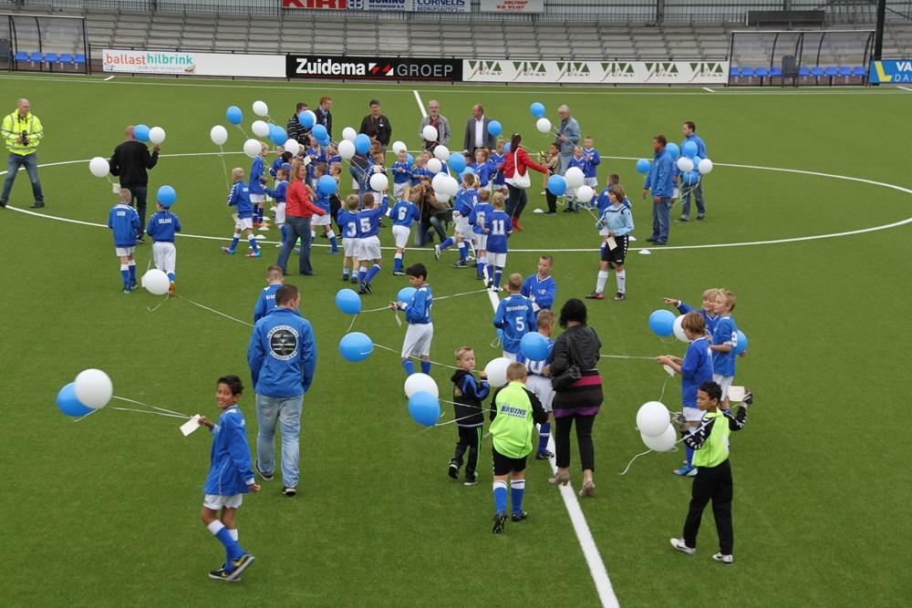 VV Hoogeveen Opening nieuwe accomodatie 31-08-2012