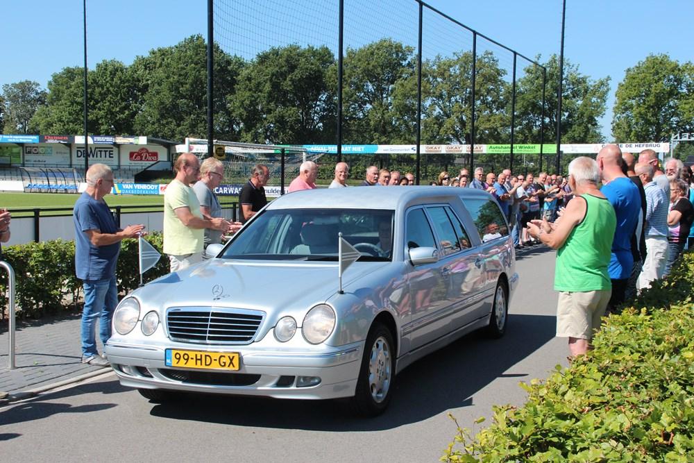 VV Hoogeveen begrafenis Piet Scholten 23-07-2014