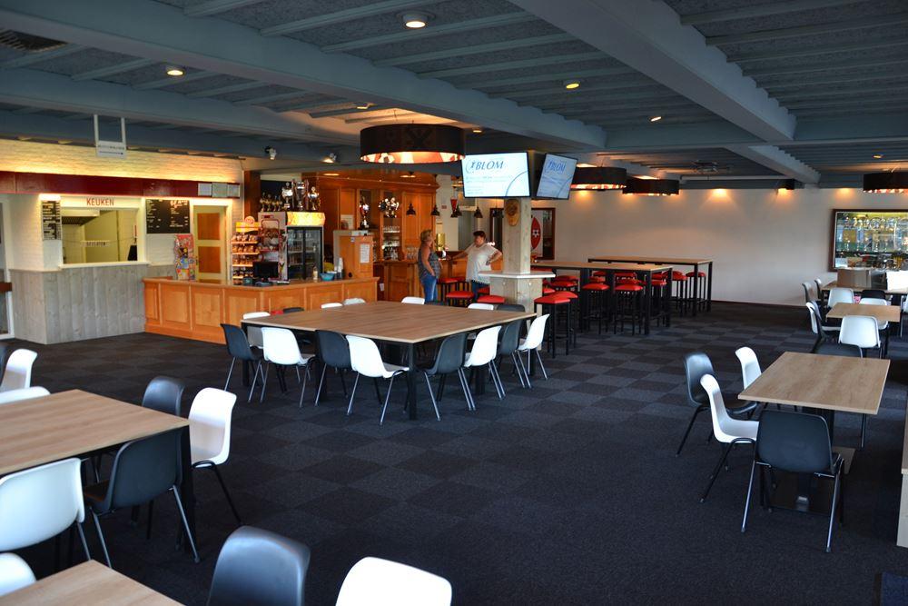vernieuwd clubhuis