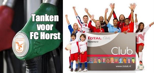 Tanken voor FC Horst
