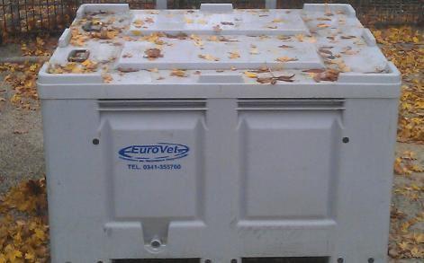 frituurolie inzamel container Eurovet