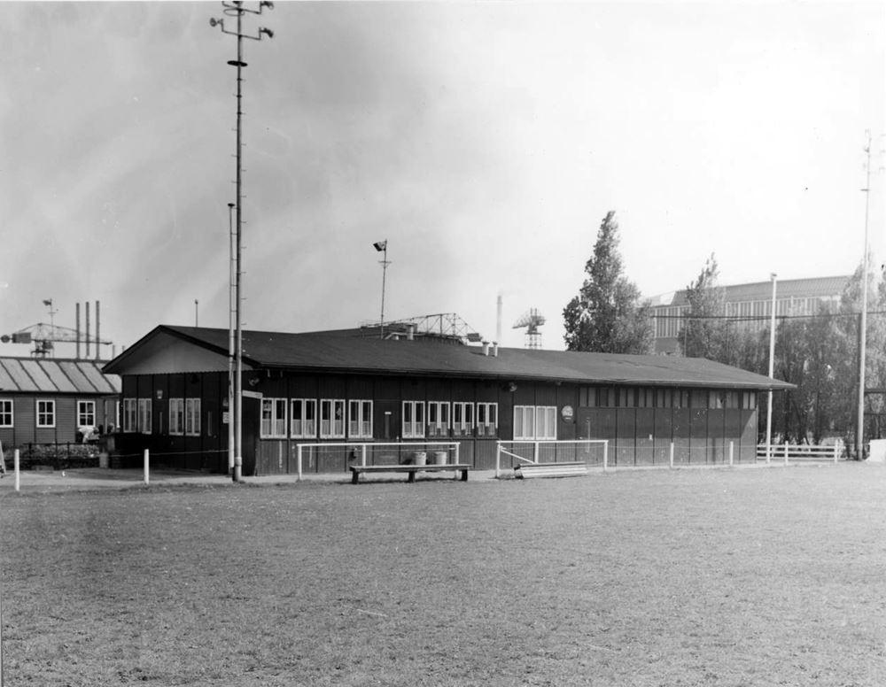Veldencomplex van NDSM (2 velden) aan de Klaprozenweg. Foto: Stichting NDSM-Herleeft.