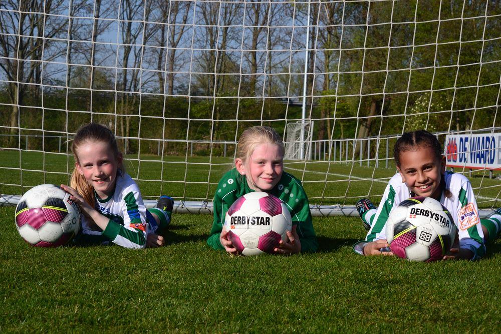 meidenvoetbal Kadoelen 2019 de jeugd heeft de toekomst
