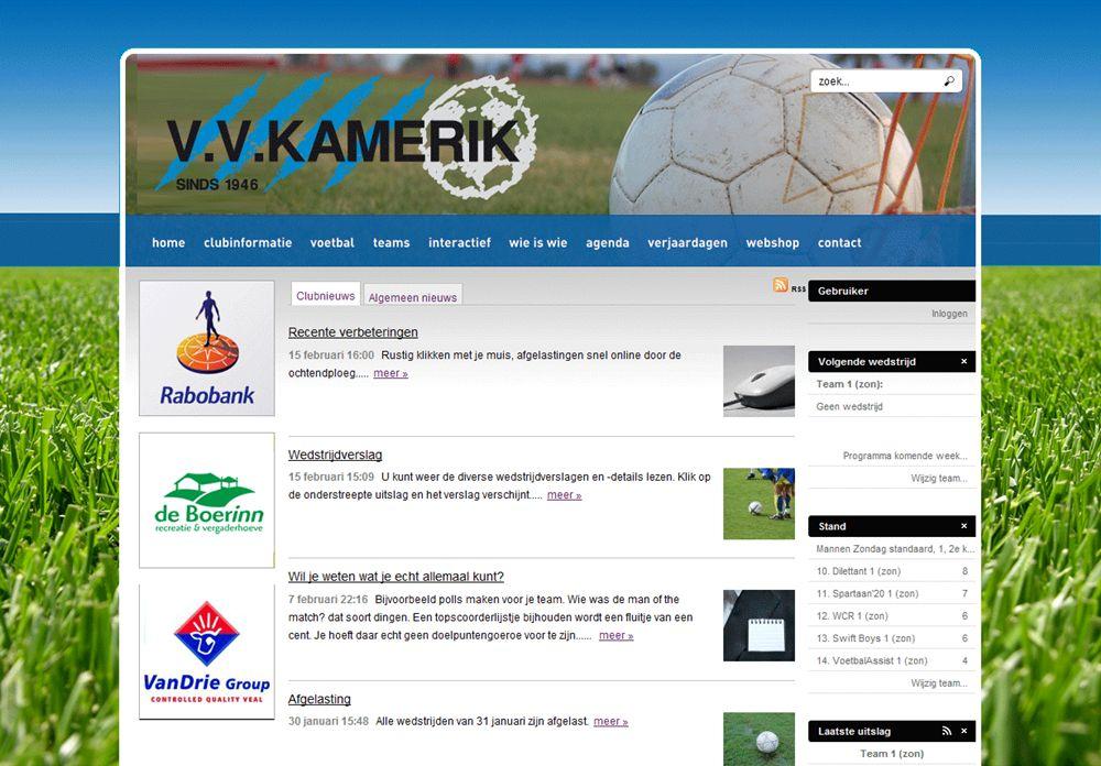 Voorbeeldpagina website