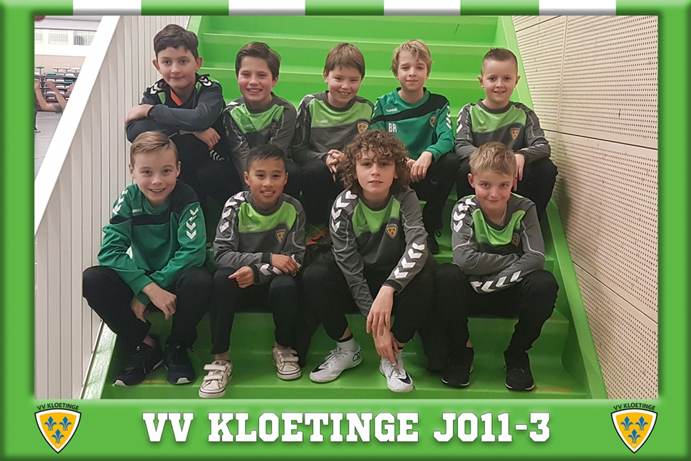 Team van de Week JO11 3