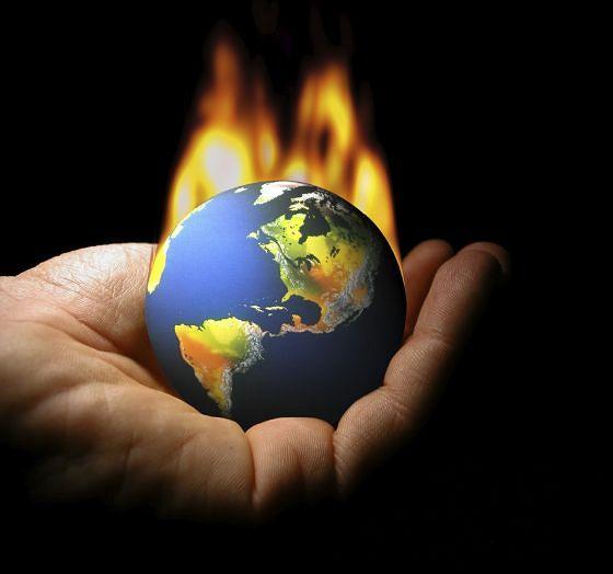 Als we niets doen verbrandt onze wereld