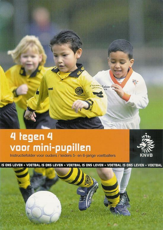Brochure Mini Pupillen van de KNVB