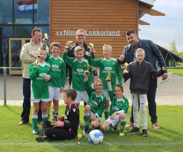 Nieuw-Lekkerland JO11-1 kampioen