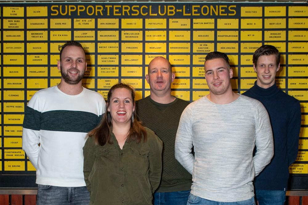 Bestuur Supportersclub Leones
