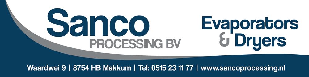 Reclamebord - Sanco Processing
