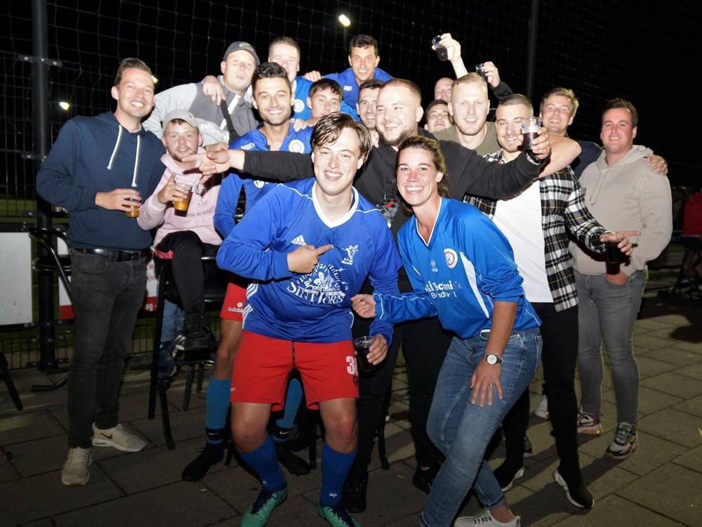 Shirtje ruilen met onze Rotterdamse vrienden