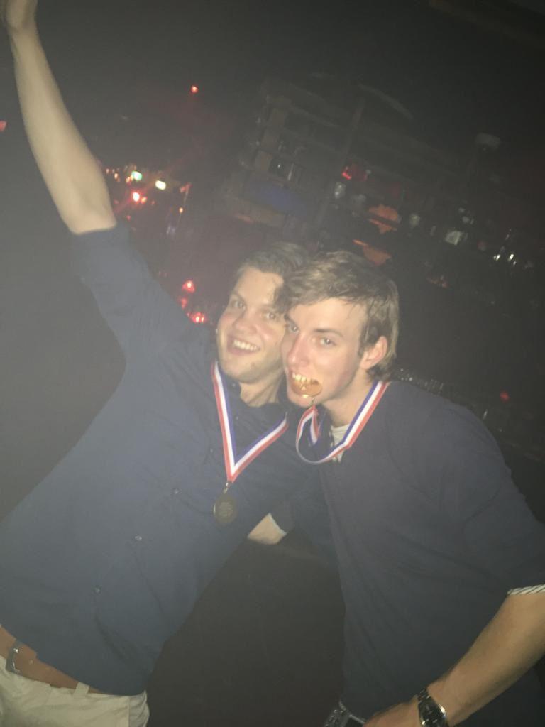 Jeroen en Viktor