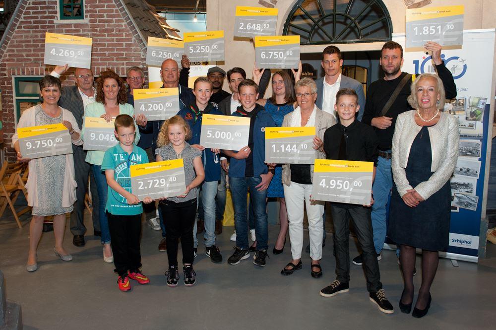 Groepsfoto Schipholfonds