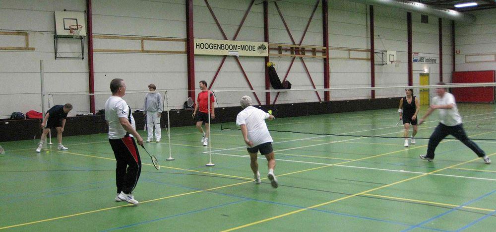 Badminton bij Quick1888